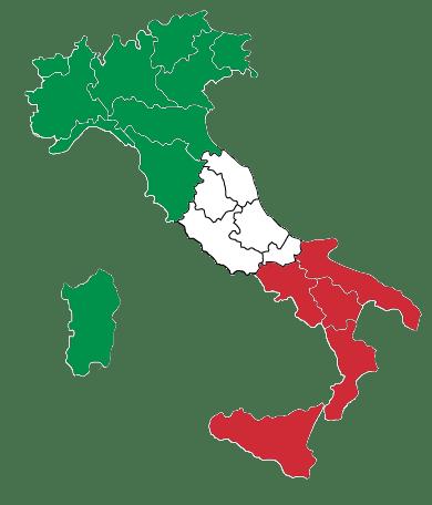 Cartina Italia Javascript.Produttori Regioni D Italia Il Mio Produttore Di Fiducia